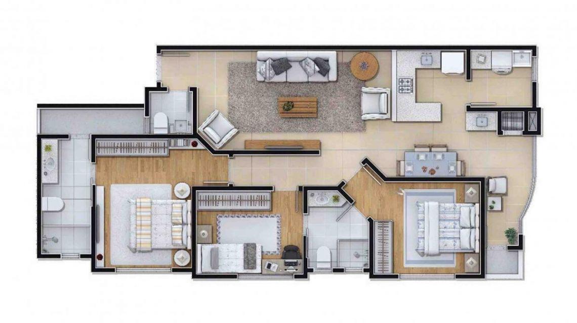 Edifício Residencial e Comercial  LM  Ituporanga 02